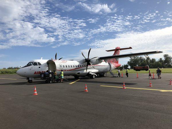 Air Tahiti, ATR72, Embarque, Polinésia Francesa