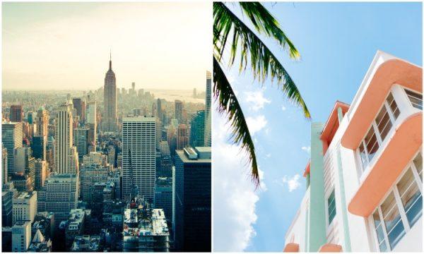 Nova Iorque e miami