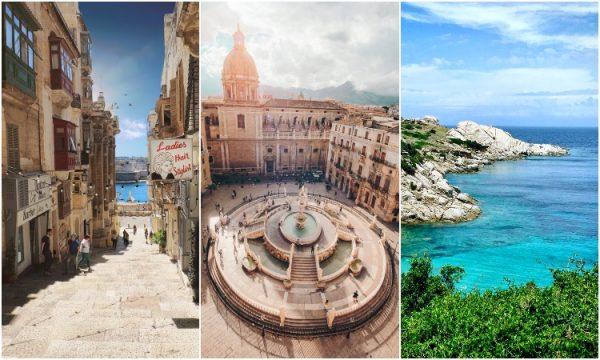 malta Sicília sardenha